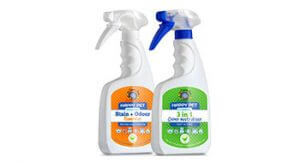 Pet stain and odour removal