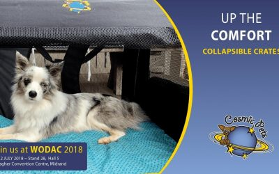 Enjoy Tail Wagging Offers from Cosmic Pets, at WODAC 2018
