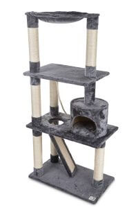 Large cat tree scratching post